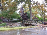 Memorial park grotto